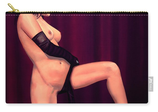 Nude Stage Beauty Carry-all Pouch