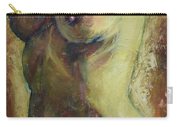 Nude Female Torso Carry-all Pouch
