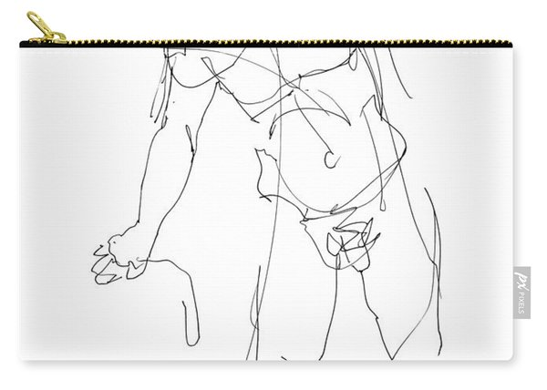 Nude_male_drawing_30 Carry-all Pouch