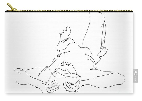 Nude_male_drawings-22 Carry-all Pouch