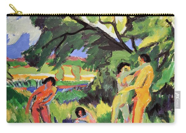 Nudes Playing Under Tree Carry-all Pouch