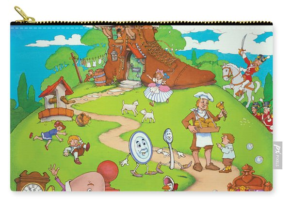 Nursery Rhymes Carry-all Pouch