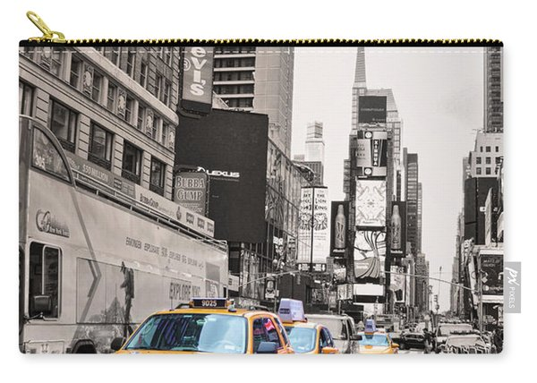 Nyc Yellow Cabs Carry-all Pouch