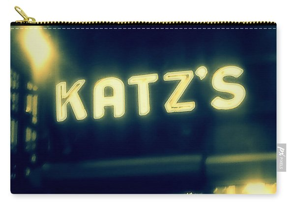 Nyc's Famous Katz's Deli Carry-all Pouch