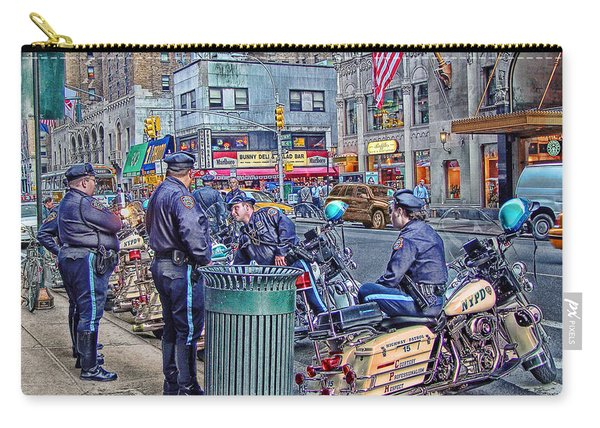 Nypd Highway Patrol Carry-all Pouch
