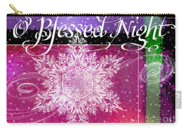 O Blessed Night Greeting Carry-all Pouch