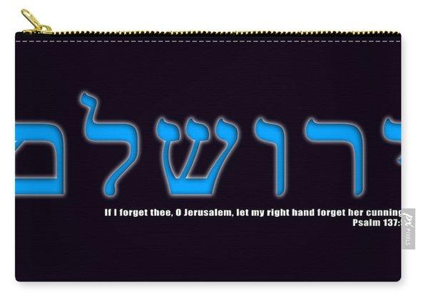 O Jerusalem Carry-all Pouch