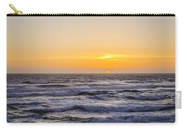 Ocean Beach Sunset Carry-all Pouch