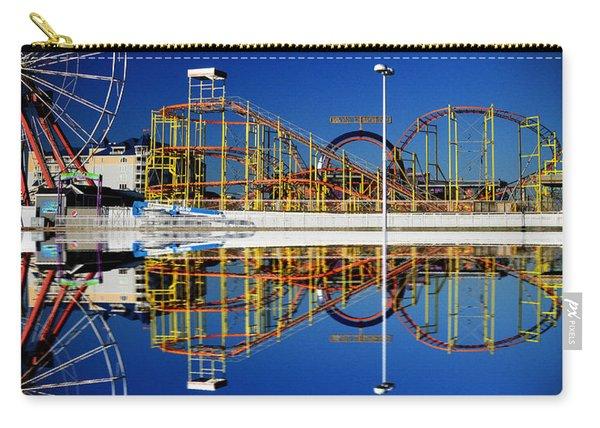 Ocean City Amusement Pier Reflections Carry-all Pouch