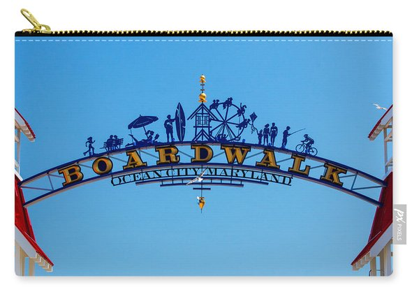 Ocean City Boardwalk Arch Carry-all Pouch