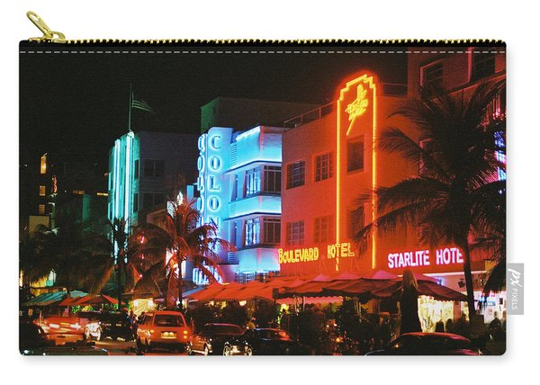 Ocean Drive Film Image Carry-all Pouch