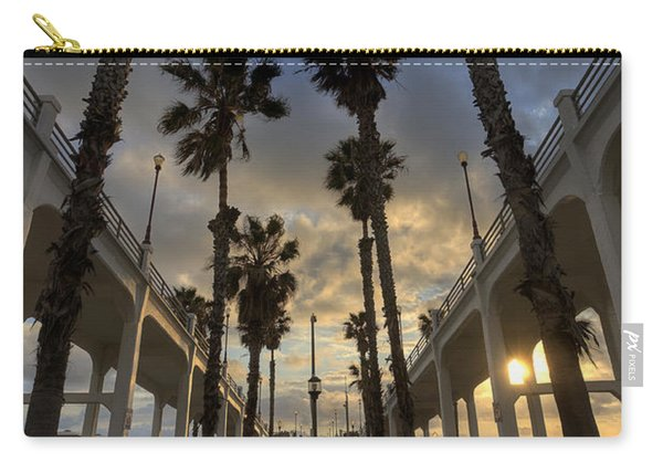 Oceanside Pier Entrance Carry-all Pouch