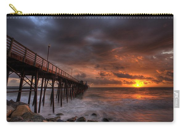 Oceanside Pier Perfect Sunset Carry-all Pouch