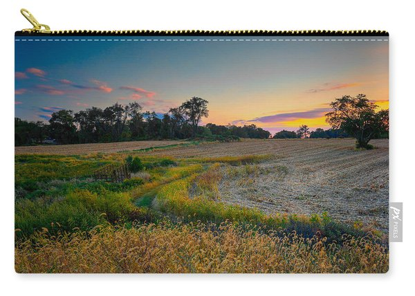 October Evening On The Farm Carry-all Pouch