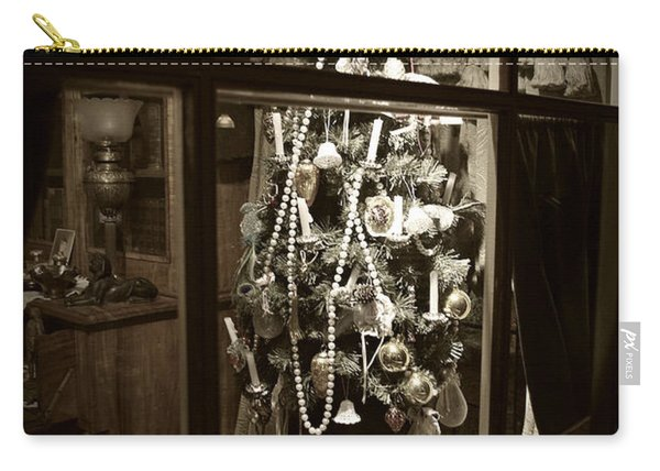 Oh Christmas Tree - Sepia Carry-all Pouch