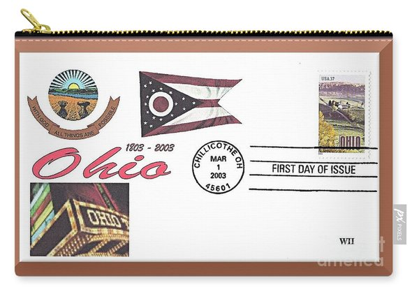 Ohio Bicentennial Cover #2 Carry-all Pouch