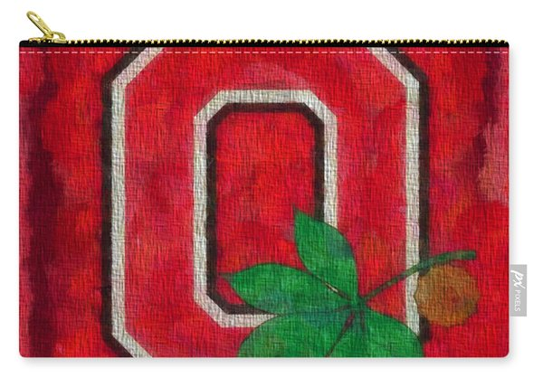 Ohio State Buckeyes On Canvas Carry-all Pouch