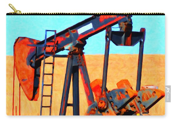 Oil Pump - Painterly Carry-all Pouch