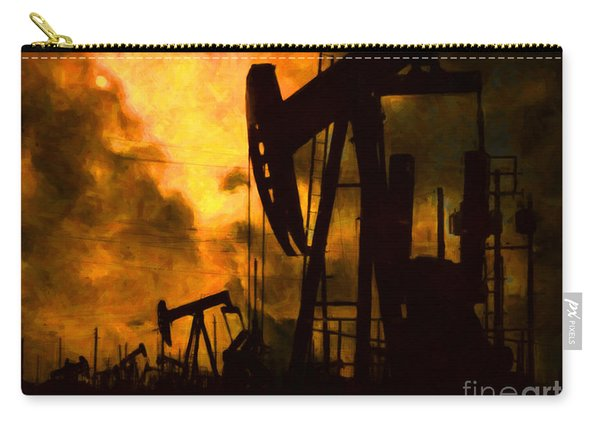 Oil Pumps Carry-all Pouch