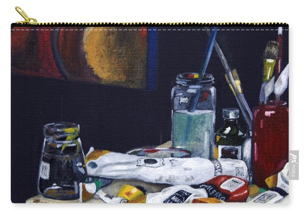 Oils Still Life Carry-all Pouch
