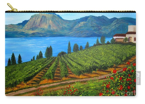 Okanagan Vineyard Carry-all Pouch