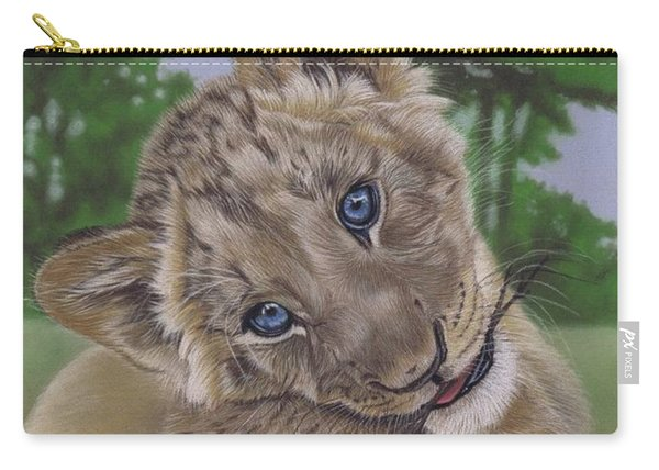 Ol' Blue Eyes Carry-all Pouch