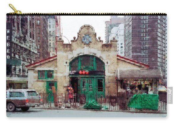Old 72nd Street Station - New York City Carry-all Pouch
