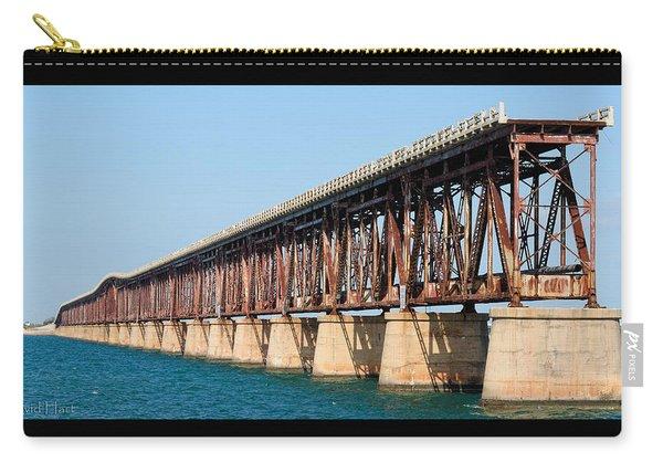 Old Bahia Honda Bridge 2 Carry-all Pouch