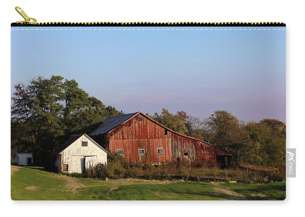 Old Barn At Sunset Carry-all Pouch