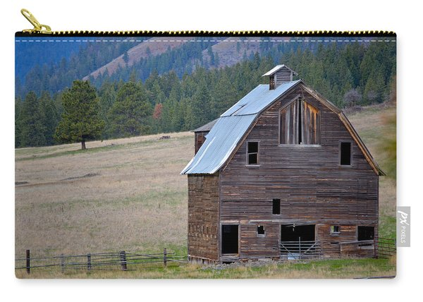 Old Barn In Washington Carry-all Pouch