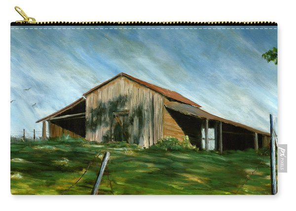 Old Barn Landscape Art Pleasant Hill Louisiana  Carry-all Pouch