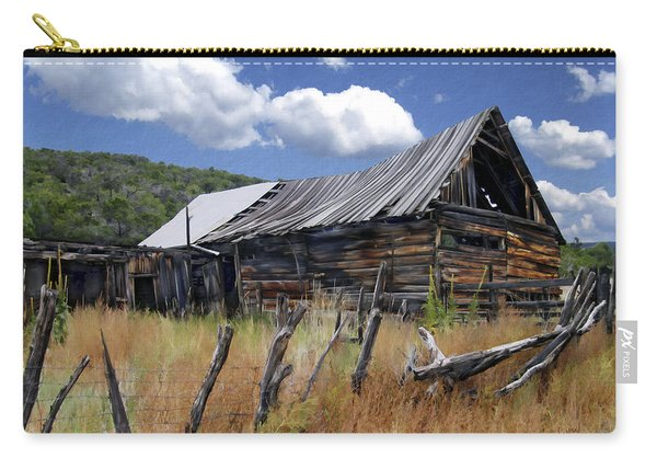 Old Barn Las Trampas New Mexico Carry-all Pouch