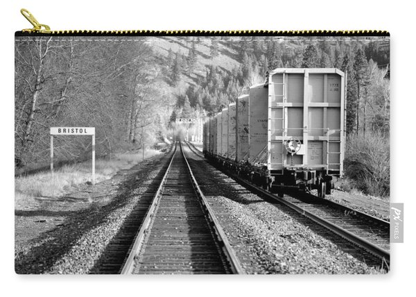 Old Bristol Rail In Ellensburg Carry-all Pouch