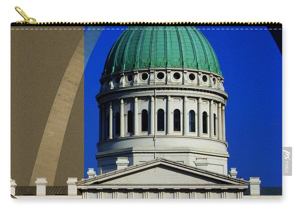 Old Courthouse Dome Arch Carry-all Pouch