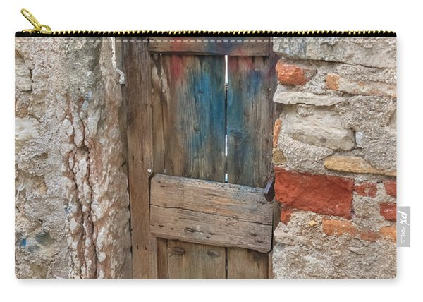 Carry-all Pouch featuring the photograph Old Door by Susan Leonard