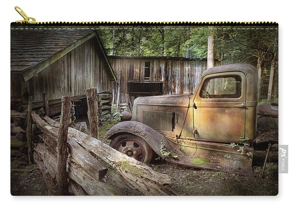 Old Farm Pickup Truck Carry-all Pouch