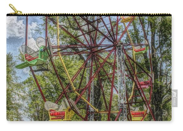 Old Fashioned Ferris Wheel Carry-all Pouch