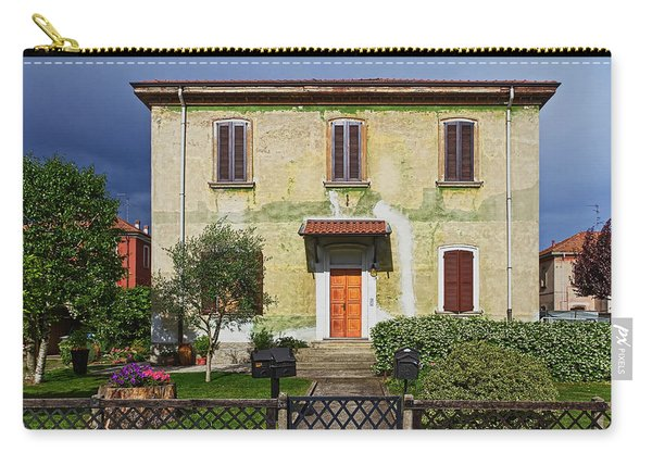 Old House In Crespi D'adda Carry-all Pouch