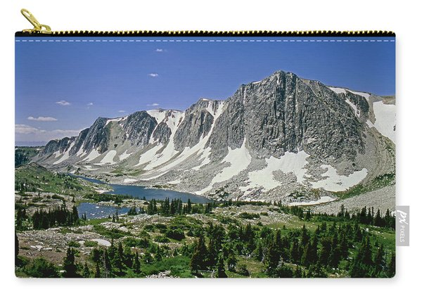 M-09702-old Main Peak, Wy Carry-all Pouch