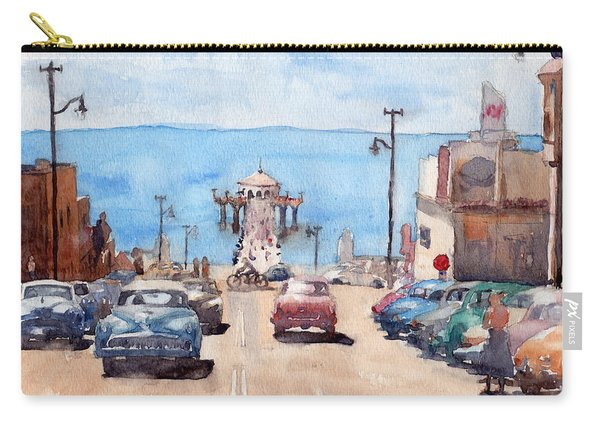 Old Manhattan Beach Carry-all Pouch