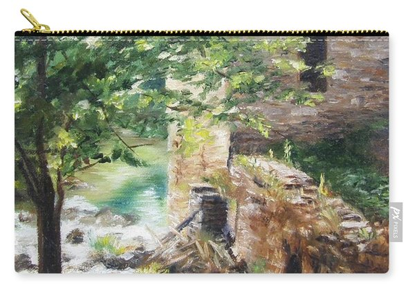 Old Mill Stream I Carry-all Pouch