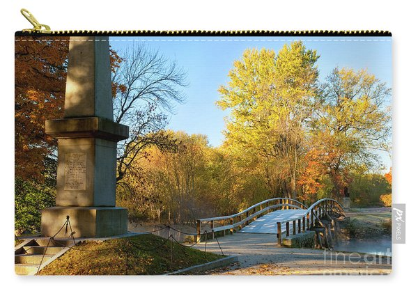 Old North Bridge Carry-all Pouch