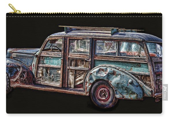 Old Packard Woody Carry-all Pouch