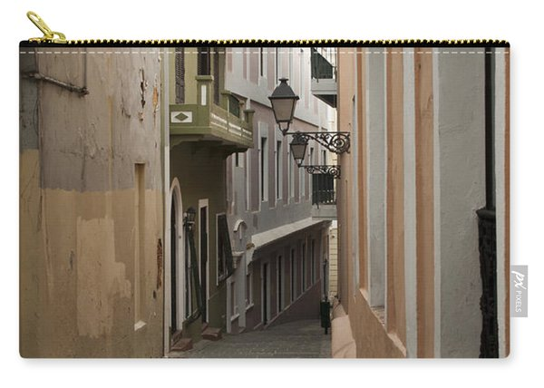 Old San Juan Street Carry-all Pouch