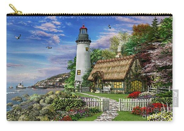 Old Sea Cottage Carry-all Pouch