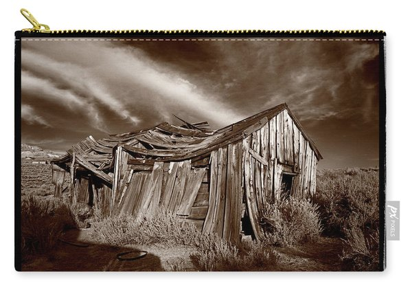 Old Shack Bodie Ghost Town Carry-all Pouch