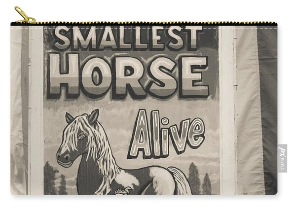 Old Sideshow Poster Carry-all Pouch