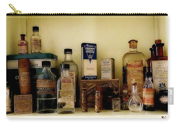 Old-time Remedies Carry-all Pouch