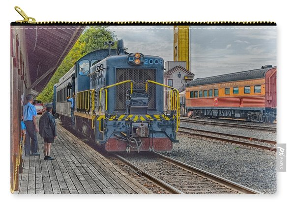 Old Town Sacramento Railroad Carry-all Pouch