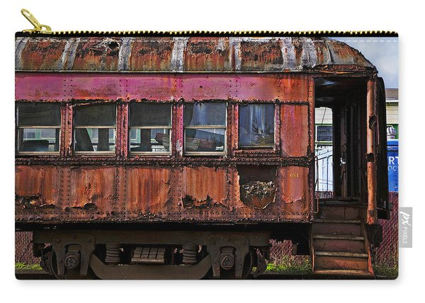 Old Train Car Carry-all Pouch